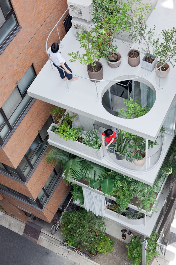 Garden and House by Ryue Nishizawa Photography by...